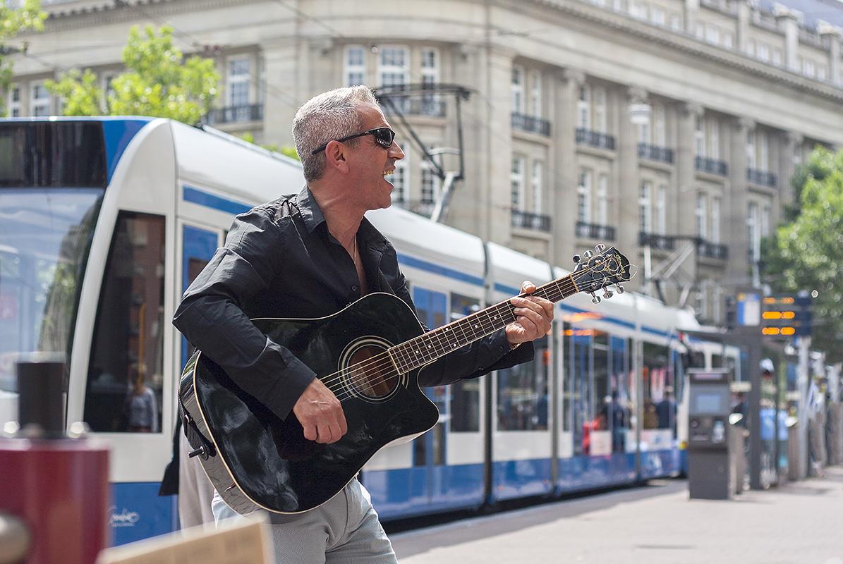 Straatmuzikant © Willeke